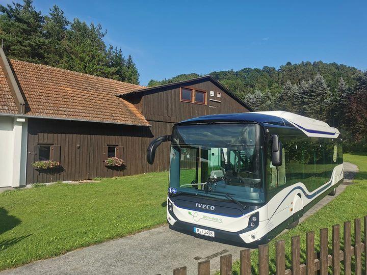 Elektro Bus Test Oberger